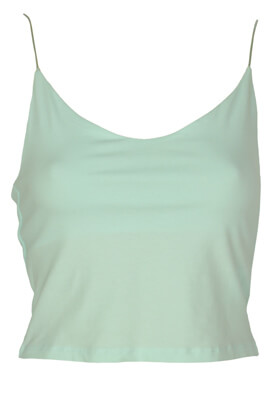 Top Cropp Camilla Light Green