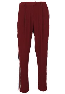 Pantaloni Reserved Donna Dark Red