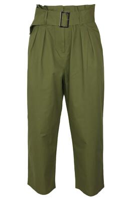 Pantaloni Reserved Della Dark Green