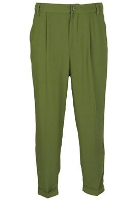 Pantaloni ZARA Jill Dark Green