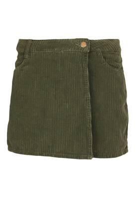 Pantaloni scurti ZARA Wendy Dark Green