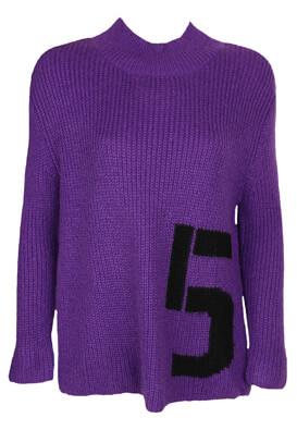 Pulover Vero Moda Fiona Dark Purple