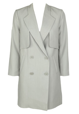 Pardesiu Vero Moda Georgia Light Grey