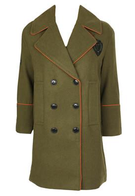 Palton Vero Moda Ciara Dark Green
