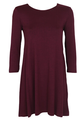 Rochie Stradivarius Betty Dark Purple