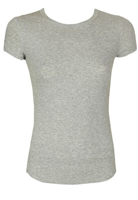 Tricou ZARA Basic Grey