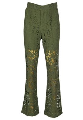 Pantaloni ZARA Tasha Dark Green