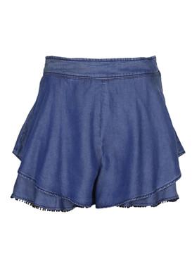 Pantaloni scurti ZARA Brenda Dark Blue