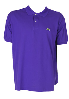 Tricou Polo Lacoste Matt Purple