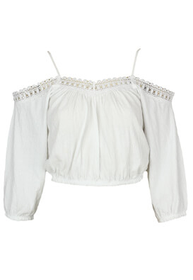 Bluza Pull and Bear Stella White