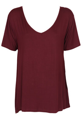 Tricou Pull and Bear Sandra Dark Purple