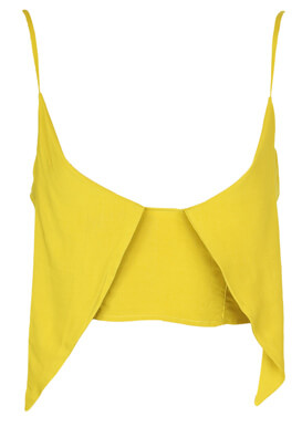 Top Pull and Bear Erin Dark Yellow