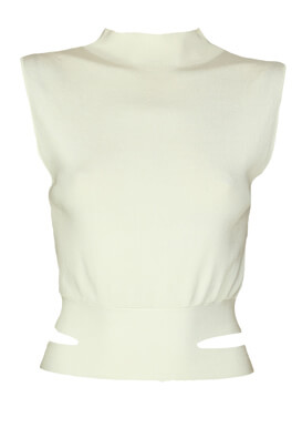 Tricou ZARA Kitty White