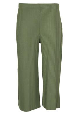 Pantaloni Pull and Bear Fiona Dark Green