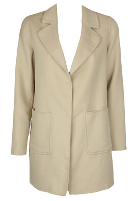 Palton Pull and Bear Tasha Light Beige