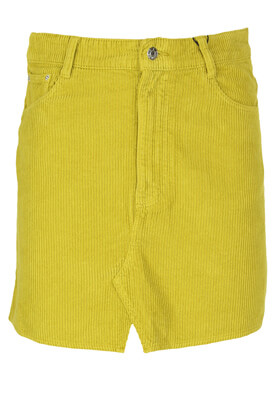 Fusta ZARA Amelia Dark Yellow