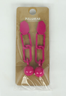 Cercei Pull and Bear Patricia Dark Pink