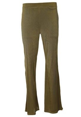 Pantaloni ZARA Madelaine Dark Green