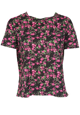 Tricou ZARA Floral Colors