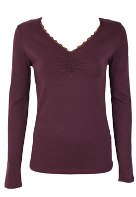 Bluza Lefties Yasmin Dark Purple