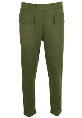 Pantaloni Lefties Dasia Dark Green