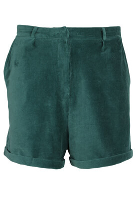 Pantaloni scurti Lefties Francesca Dark Green
