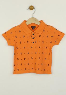 Tricou polo Kiabi Benny Orange