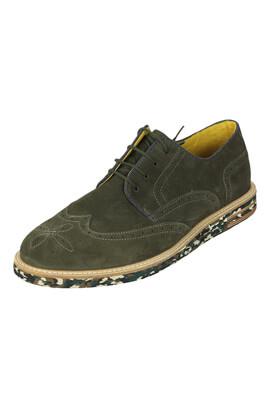 Pantofi piele Salsa Jerry Dark Green