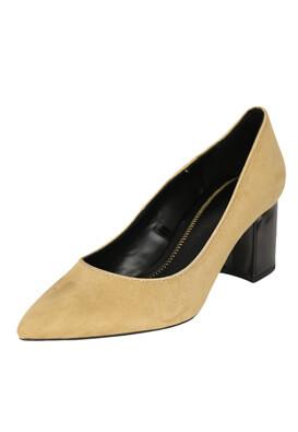 Pantofi Bershka Alessia Beige