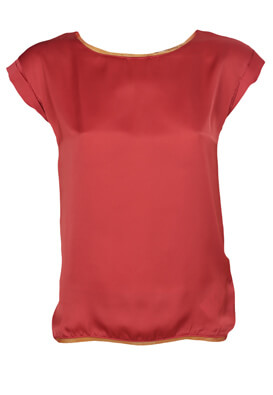 Tricou Orsay Laura Dark Red