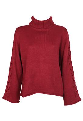 Bluza Jacqueline de Yong Yasmin Dark Red