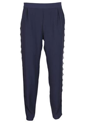 Pantaloni Jacqueline de Yong Rebecca Dark Blue