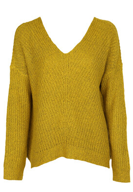 Pulover Jacqueline de Yong Shannon Dark Yellow