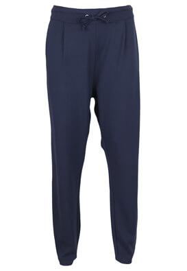 Pantaloni Jacqueline de Yong Brenda Dark Blue