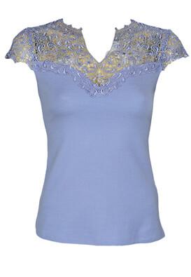 Tricou Orsay Sabrina Light Blue