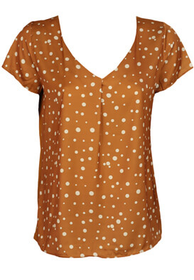 Tricou Orsay Stella Brown