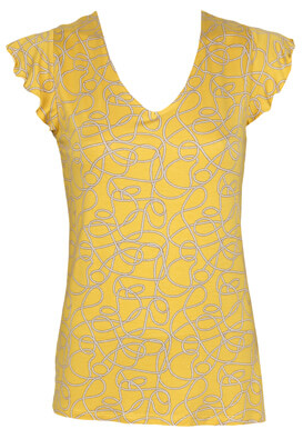 Tricou Orsay Brenda Yellow