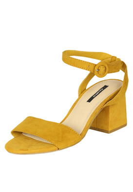 Sandale Pull and Bear Patricia Dark Yellow