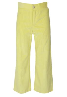 Pantaloni ZARA Angela Light Yellow