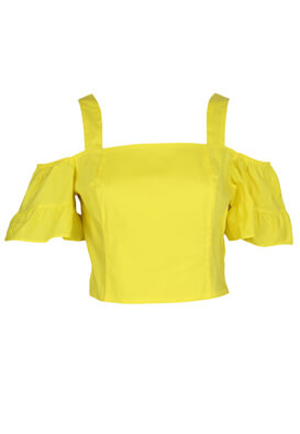 Top Stradivarius Kylie Yellow
