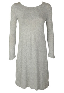 Rochie Stradivarius Taya Light Grey