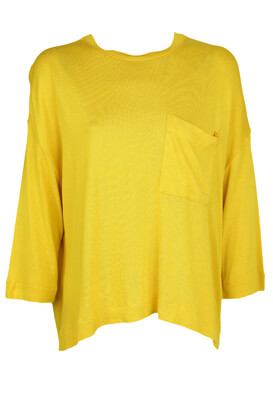 Bluza Stradivarius Francesca Yellow