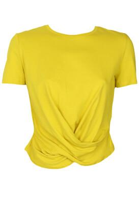 Tricou ZARA Melissa Dark Yellow