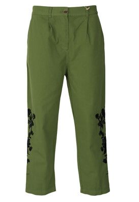 Pantaloni ZARA Dory Dark Green