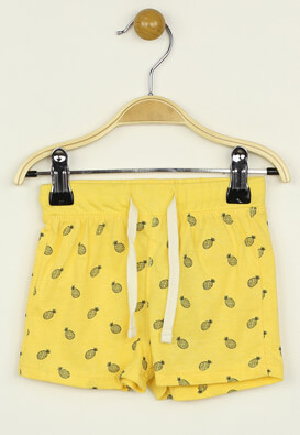 Pantaloni scurti Kiabi Paul Yellow