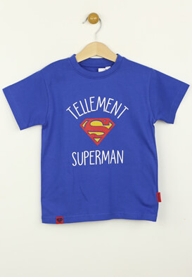Tricou Kiabi Superman Blue
