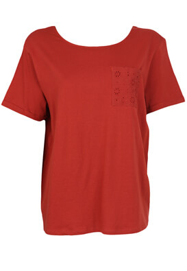 Tricou Kiabi Aimee Dark Red