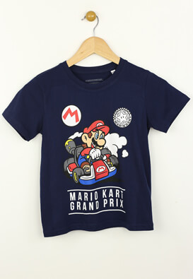 Tricou Kiabi Mario Dark Blue