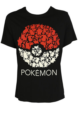 Tricou Kiabi Pokemon Colors
