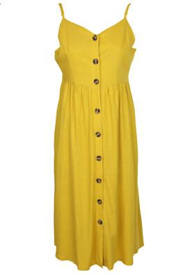 Rochie Kiabi Alivia Dark Yellow